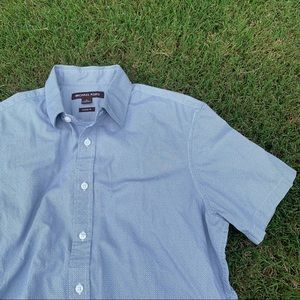 Michael Kors Short Sleeve Button Down